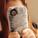 Fluffy Fur Iphone Case for Iphone 4 / 4S